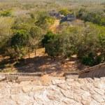 Majestic ruins in Ek Balam, ancient Mayan city.Ek ...