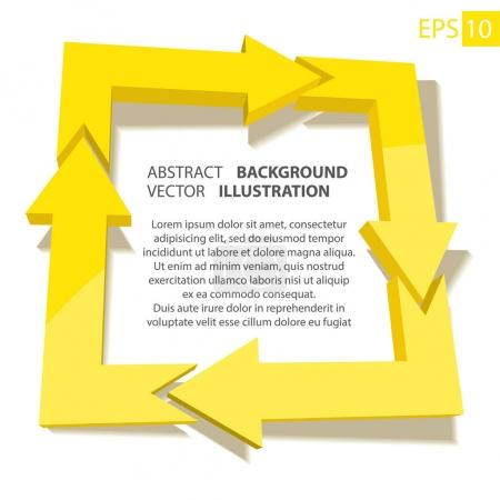 Business infographic 3D. Abstract background