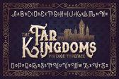royal typeface Far Kingdoms