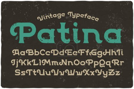 "textured effect named ""Patina"""