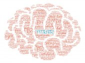 MTHFR Brain Word Cloud