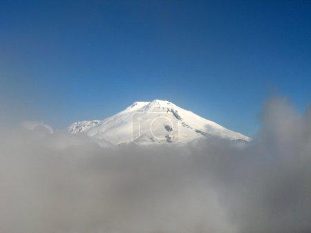 Caucasus Bezenghi mountain view