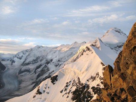 Caucasus Bezenghi mountain