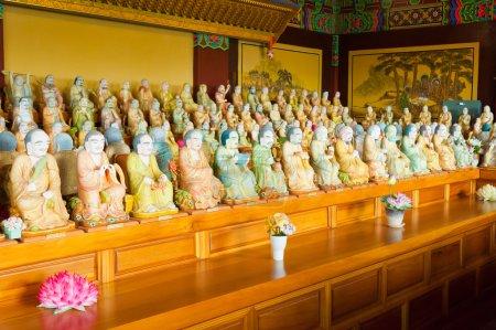 1000 buddha statues at Yakcheonsa Temple