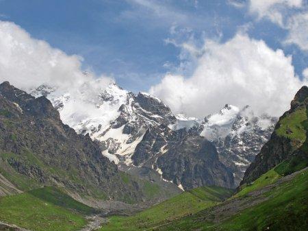 Bezenghi mountains at Caucasus