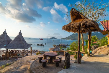 view of Koh Tao island , Samui, Thailand