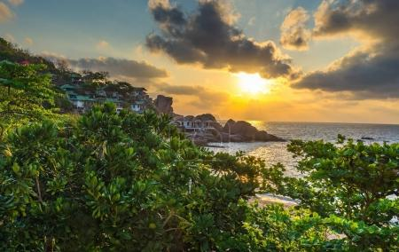 Sunrise view of Koh Tao island of Thailand