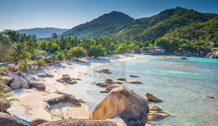 Silver beach, Crystal Beach beach view at Koh Samui Island Thail