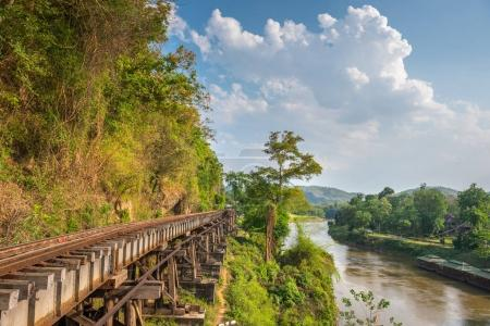 Death Railway and Bridge of Death at River Kwai, was built by th