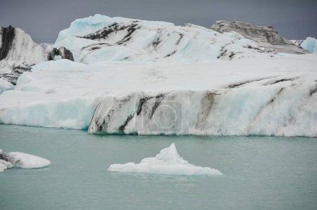 Melting Iceland glaciers, global warming