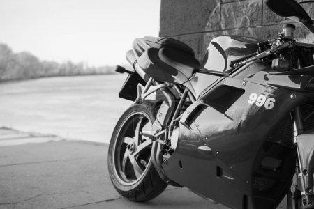 Back of the Sport Ducati