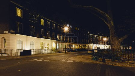 Cartwright Gardens by night C