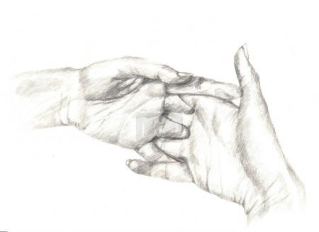 Sketch of a hands