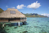 Over water bungalow in Moorea, French Polynesia