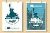 New York typography life in NYC t-shirt graphics design