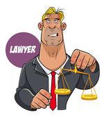 Právník soudce muži