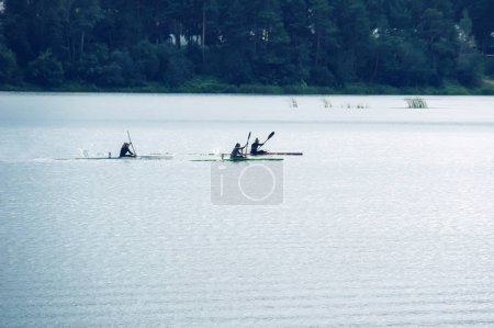 competitions on rowing on open water