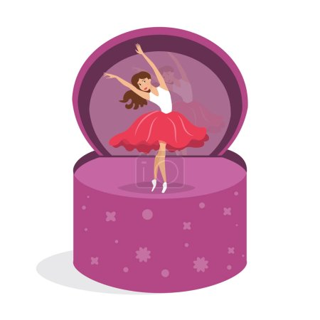 Dancer in the music box.