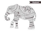 Elephant coloring book