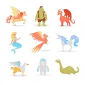 Mythological and fairy creatures