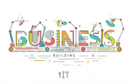 Concept of creating and building idea