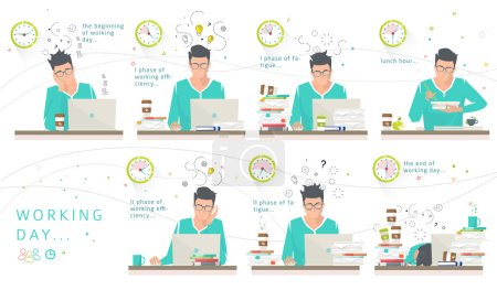 Concept of one working day