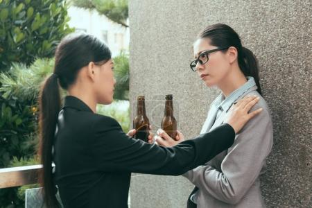 women have bad office experience talk