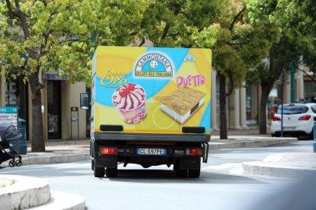 Итальянское Мороженое Грузовик Вождения
