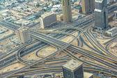 Dubai highway interchange