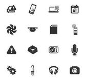 Electronics repair vector icons for user interface design