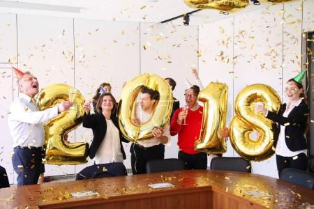 2018 New Year office party