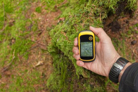 finding the right position in the forest with a gps