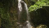 Beautiful tropical waterfall. Philippines Bohol island.