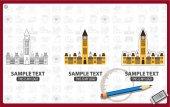 Parliament logos set
