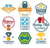 Logos fitness gym