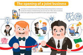 Opening of joint business
