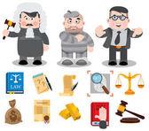 Judge defendant lawyer