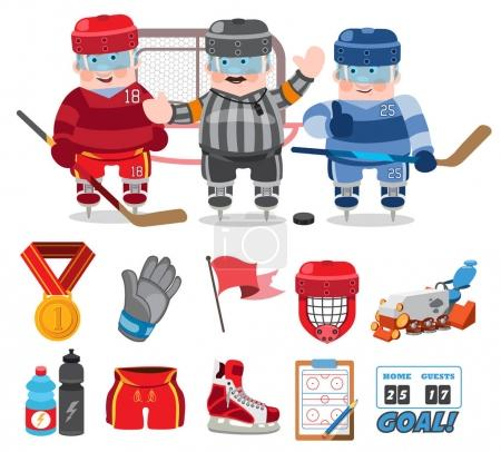 Ice hockey, game,