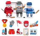 Ice hockey, game,