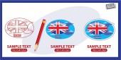 England logos set