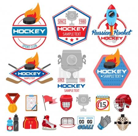 Ice hockey logos