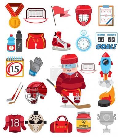 Ice hockey elements