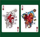 """Постер, картина, фотообои """"Символ игральных карт"""""""