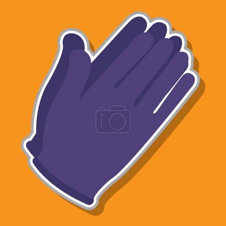 Gloves Sterile working icon