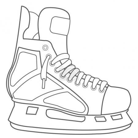 Skates, hockey ammunition