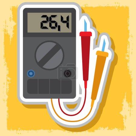 Digital multimeter icon.