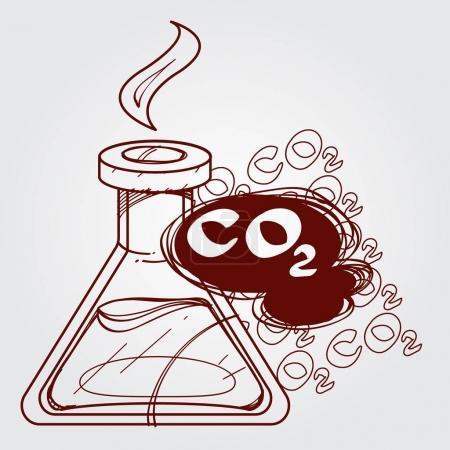 Carbon dioxide in vitro