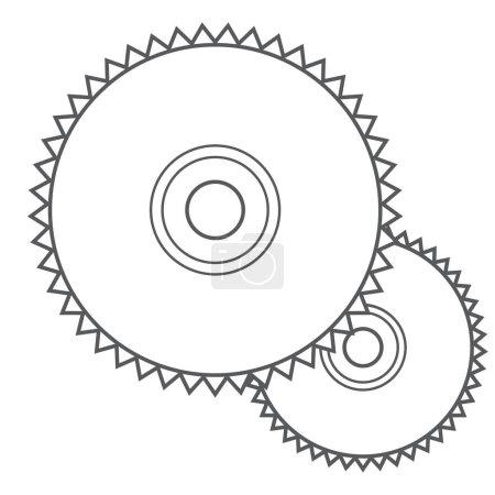 Saw disc, a circular saw
