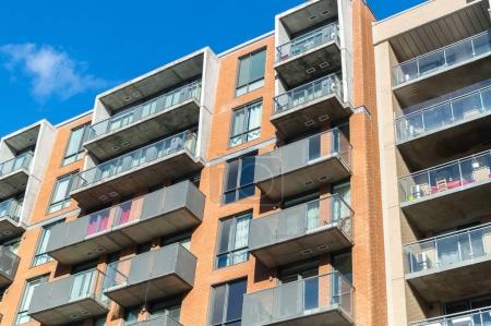 Photo for Modern condo buildings with huge windows in Montreal, Canada. - Royalty Free Image