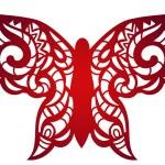 Laser cut flower butterfly pattern for decorative ...